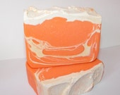 ON SALE Creamsicle! ~ Homemade Soap ~ Handmade Soap ~ Scripture ~ Proverbs 31 ~ Christian Soap Business ~ Cold Processed ~ Handmade ~ Orange