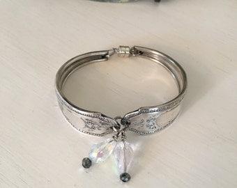 Vintage Repurposed Silver Spoon Bracelet