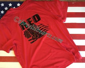 RED remember everyone deployed Mens T Shirt