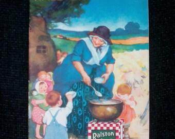 Antique Cookbook, Ralston Recipes, 1923 Collectible Cookbook, Vintage Kitchen, Cooking and Baking, Vintage Cookbook