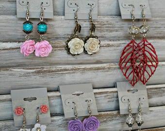 Earring lot! Handmade earrings!