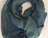 Art textile silk wool sca...