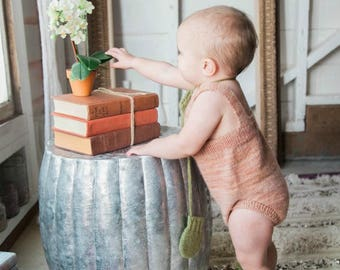 Dakota Romper in Cantaloupe