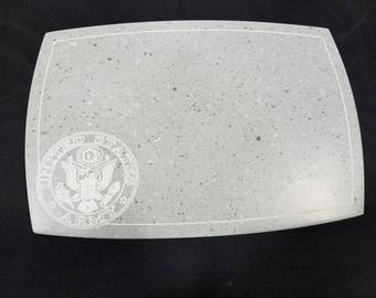Army inspired Board - Corian