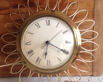Mid-Century Vintage Kitchen Wall Clock