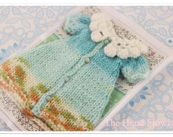 Handmade knitting Dress for Blythe.