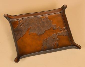 Michigan Upper Peninsula - UP Map Carving - Made in Michigan