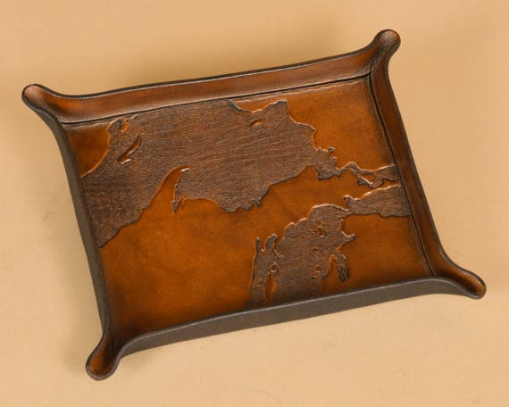 Michigan Upper Peninsula - UP Map Carving - Made in Michigan