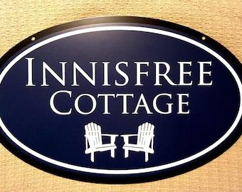 Home & Cottage Sign Pool sign Address sign