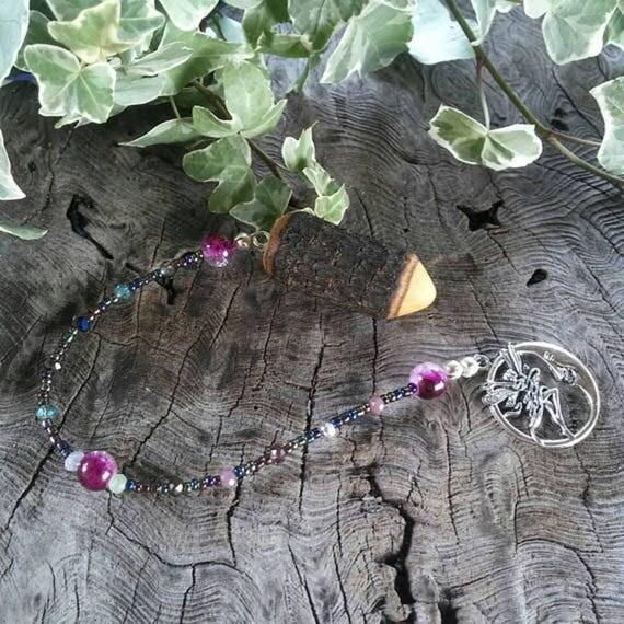 Magnolia Dowsing Pendulum, Divination Pendulum, Dowsing Pendulum, Magnolia, Dowsing, Pendulum, Traditional Witchcraft