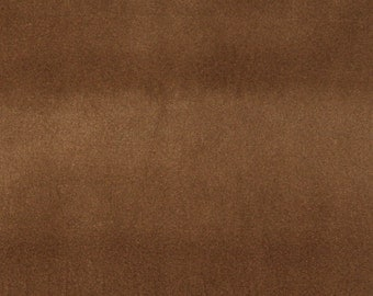Brown Solid Plain Velvet Automotive Residential And Commercial Upholstery Velvet By The Yard | Pattern # C853
