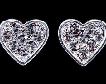 Style # 16381 - Heart Post Earrings
