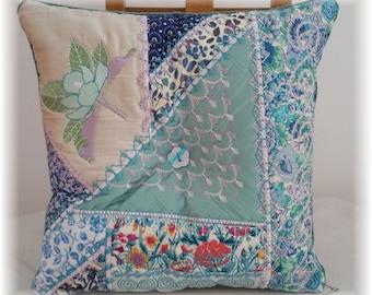 Liberty Tana Lawn Lavender Pillow