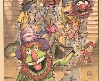 Muppet Band Poster Print
