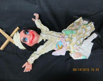 Vintage Girl Marionette