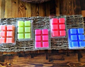 Clamshell Wax Melts/Tarts 6ct. Extra Scented