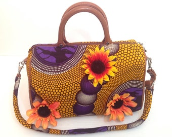 Flowers and Love ShoulderBag