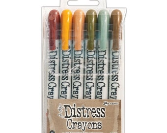 Ranger Tim Holtz Distress Crayons SET 10