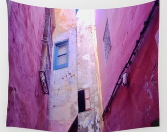 Pink Wall Tapestry pink tapestry   etsy