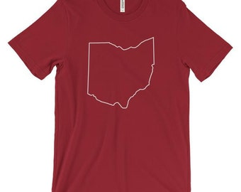 Outline of Ohio T-Shirt