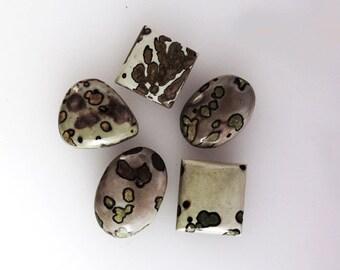 Amazing 68Ct, Designer Ocean Jasper Lots, Handmade Cabochon, Loose Semi Precious Gemstone, Cabochon For Jewelry Making AG-2880