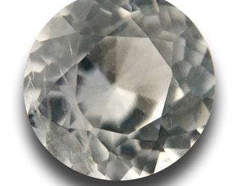 1.04 Carats | Natural White Sapphire | Certified | Sri Lanka - New