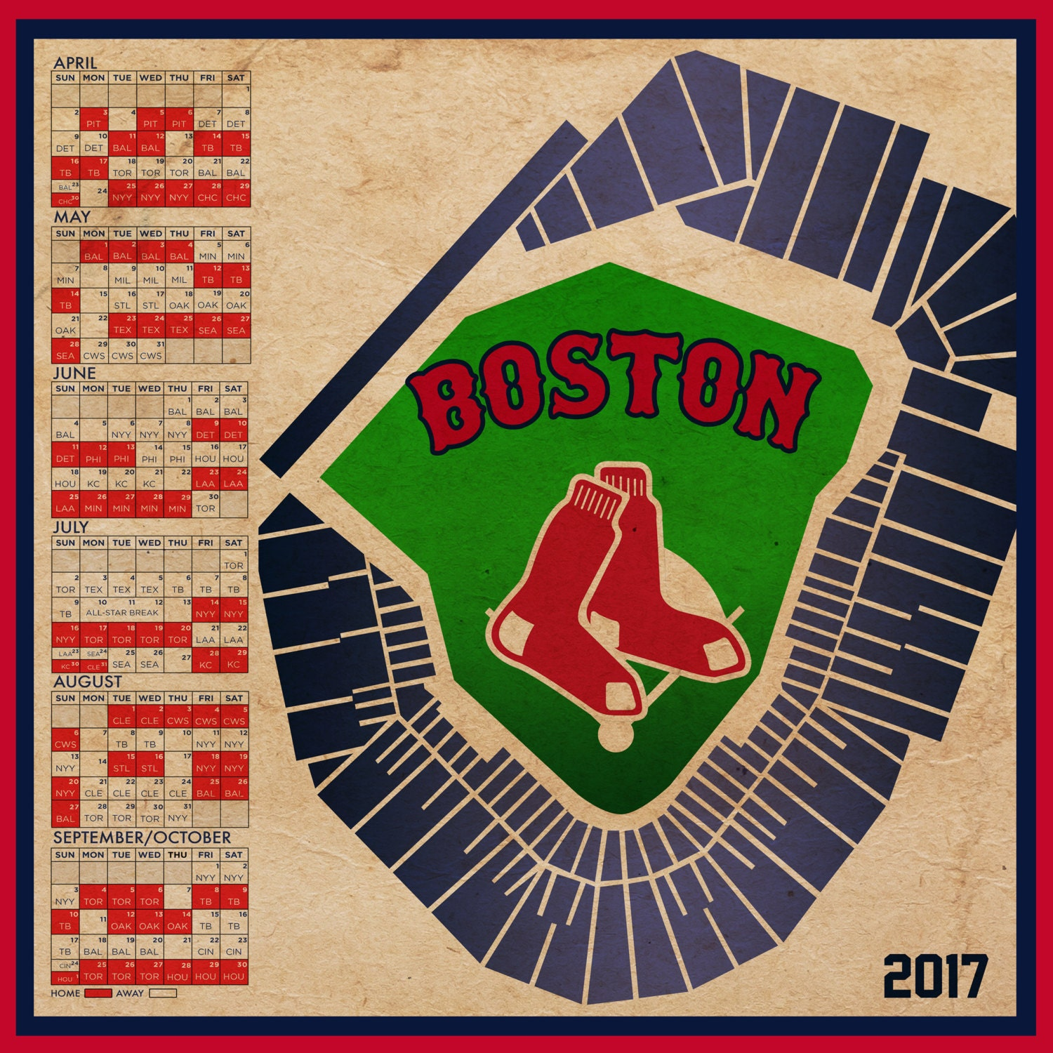 This is a graphic of Persnickety Boston Red Sox Printable Schedule