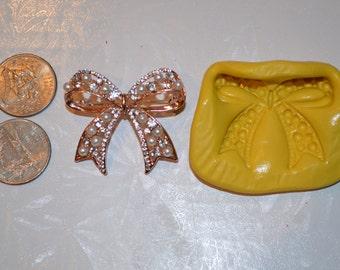 Bow Silicone Mold, Bow Silicone Mould, Bow mold, bow mould, bow resin mold, bow chocolate mold