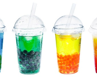 Bubble Tea Glass Drinking Straws