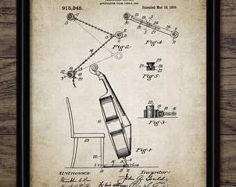 Cello Patent Print - 1909 Cello Design - Stringed Instrument - Classical Music  - Musician Gift Idea - Single Print #2222 - INSTANT DOWNLOAD