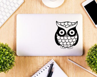 Cute Owl, Macbook Decal, Apple Macbook, iPad and other laptop stickers, Mac Decal, iPad Decals, iPad stickers