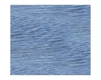 Landscape - Lake Water by Elizabeth's Studio (528-LAK) Cotton Fabric Yardage