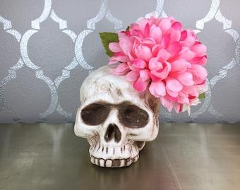 Pink Ball Chrysanthemum Fascinator
