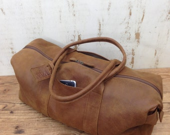 Leather Duffle Bag Leather Weekend Bag Overnight Bag Gym