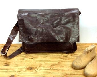 Sale!!! Women's messenger bag Leather messenger bag for women Leather laptop bag Macbook leather bag Laptop leather bag Dark brown 11 13 15
