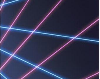 the blue and purple laser  Photography backdrop,newborn prop,Birthday party Vinyl backdrop XT-5310