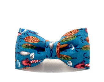 Fish bow tie etsy for Fish bow tie