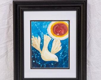 Framed Print: Peace Under the Sun