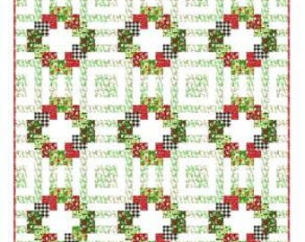 "Welcome Wreath Quilt Pattern 72"" x 72"""