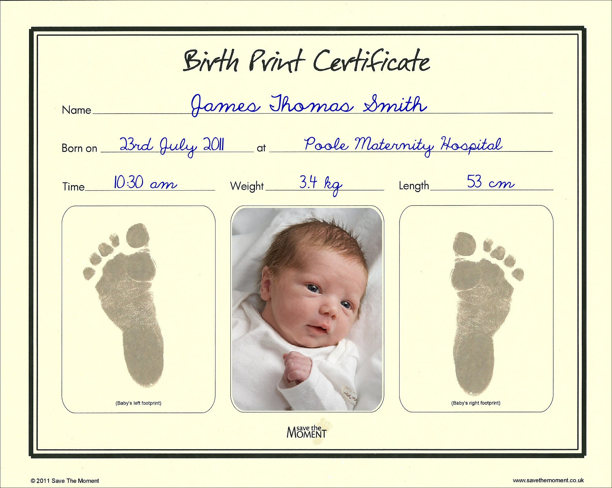 Newborn keepsake clay handprint footprint and inkless birth newborn keepsake clay handprint footprint and inkless birth certificate gift set sold by savethemoment aiddatafo Images