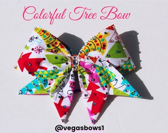 Colorful tree bow