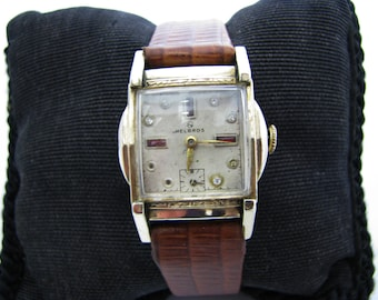 Nice 1940's Helbros 17 Jewel Mechanical Watch
