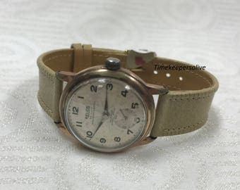 Vintage Original Relide Swiss Made Stainless Waterproof Mechanical Wrist Watch