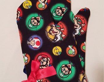 Gaming Characters Oven Mitts!