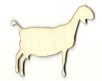 how to cut goat head