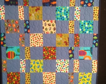 Darling Boys baby quilt