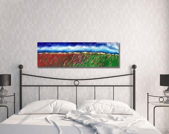 Landscape Painting, Original Painting, Abstract Landscape Painting, Landscape Abstraction, Canvas Art, Original Acrylic Landscape Painting