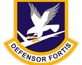 Security Forces Stickers 0097