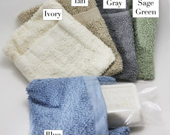 Terrycloth Soap Pouch Holder by Sage & Savvy