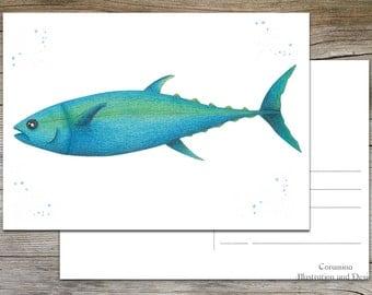 postcard Tuna limited edition